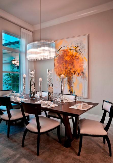 Isabella contemporary-dining-room