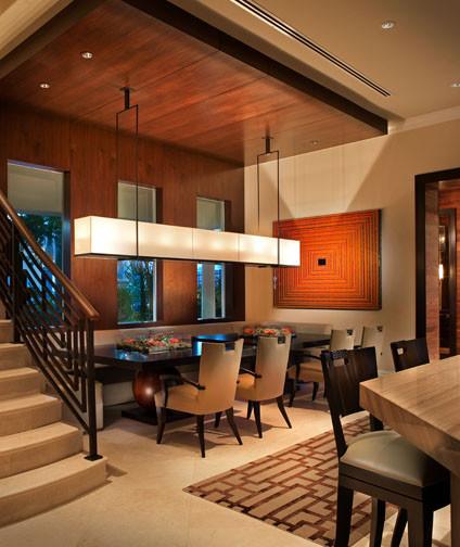 Island Estates Residence contemporary-dining-room