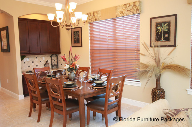 island feel tropical dining room orlando by dining room categories dining room window treatment