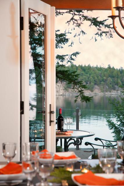 Island Home beach-style-dining-room