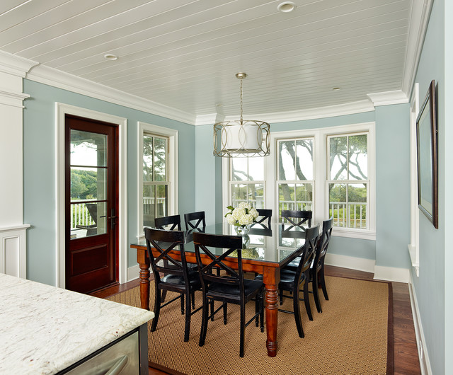 tropical dining room | Isle of Palms - Tropical - Dining Room - charleston - by ...