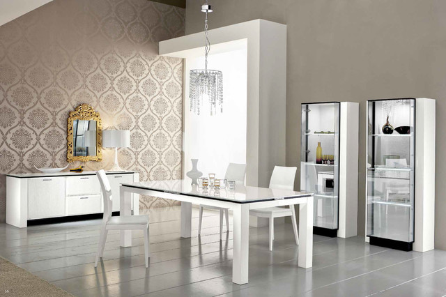 Italian Dining Set By Rossetto Made In Italy Modern Room