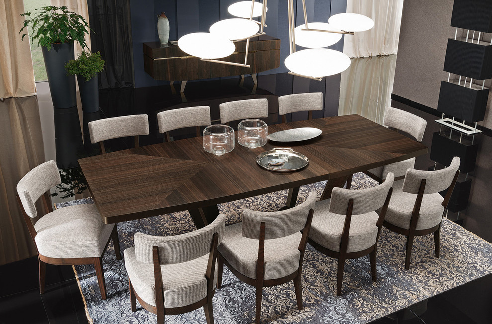 Italian Dining Table Set Accademia By Alf Modern Dining Room New York By Mig Furniture Design Inc Houzz