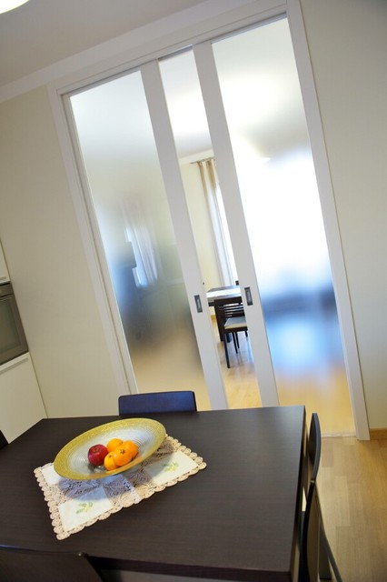 Italian doors for Salle a manger contemporain