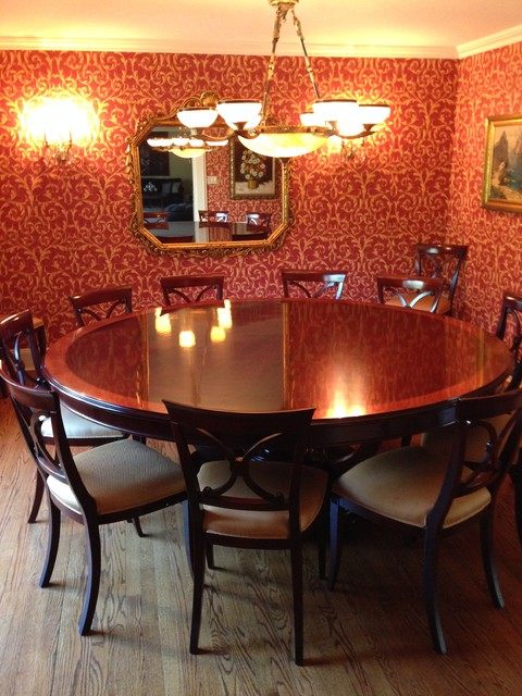Italian Furniture Long Island Dining Room Table Traditional Dining Room New York By