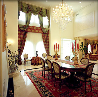Italian Renaissance Style San Marino Mediterranean Dining Room Los Angeles By Design Build By Roger Perron Inc Houzz Uk