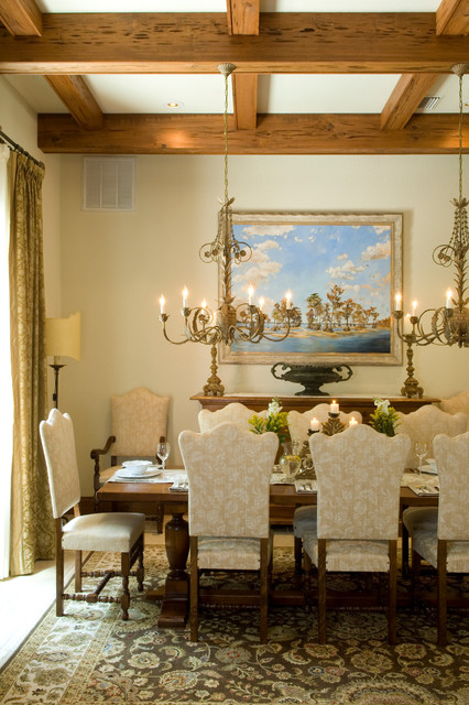 Italian villa mediterranean dining room other by for Italian villa decorating ideas