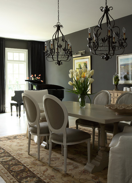 J. Hirsch Interior Design traditional-dining-room