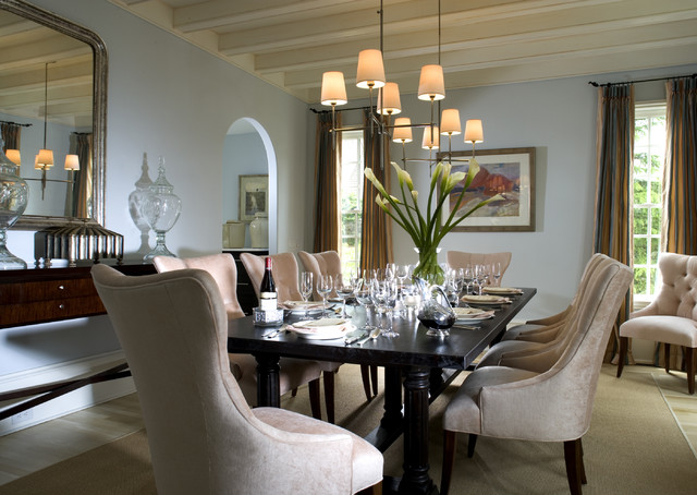 J. Hirsch Interior Design Portfolio traditional-dining-room