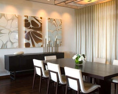 jamesthomas, LLC contemporary-dining-room