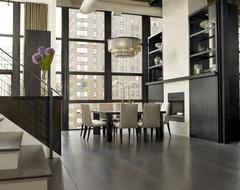 jamesthomas, LLC industrial-dining-room