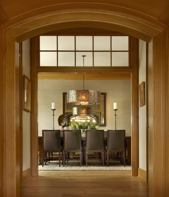 Dining room - eclectic dining room idea in Chicago