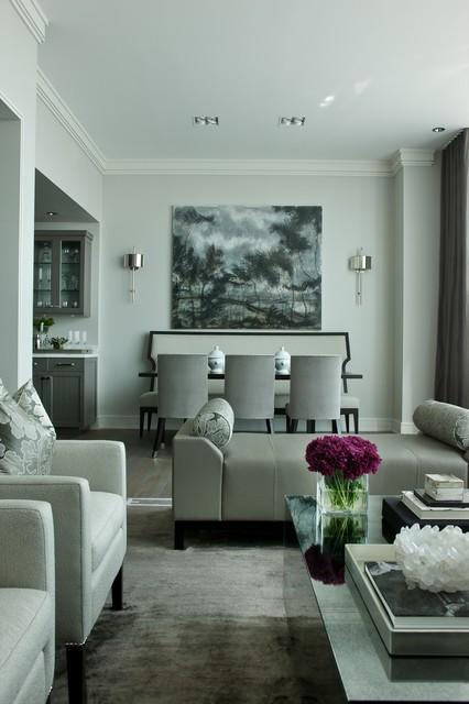 jamesthomas, LLC contemporary-dining-room