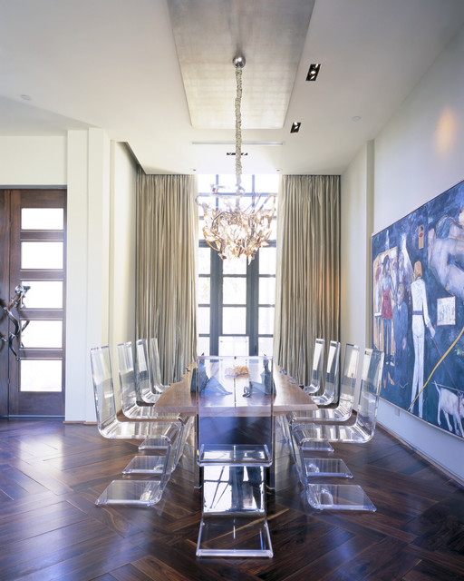 Jamie Herzlinger contemporary-dining-room