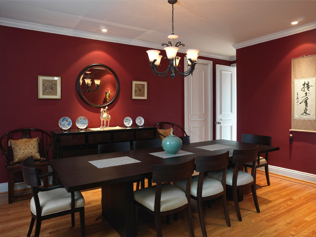 Japanese modern dining room asian dining room san for Asian dining room ideas
