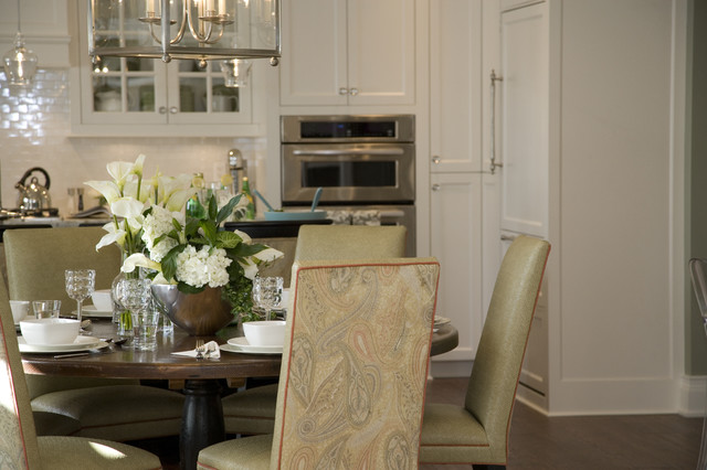 contemporary dining room by Jennifer Brouwer (Jennifer Brouwer Design Inc)