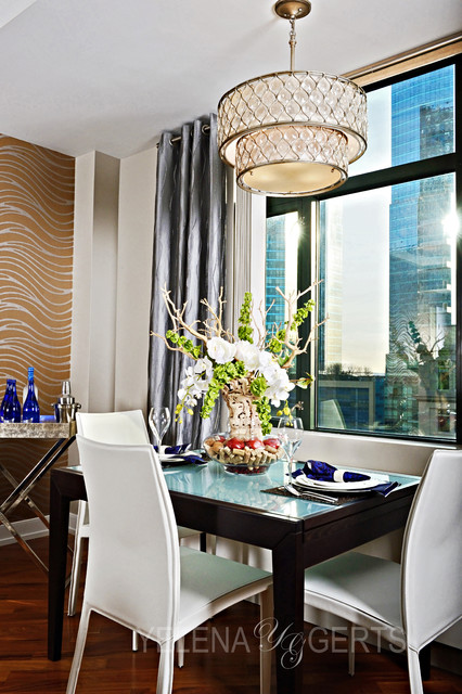 Jersey city remodel contemporary-dining-room