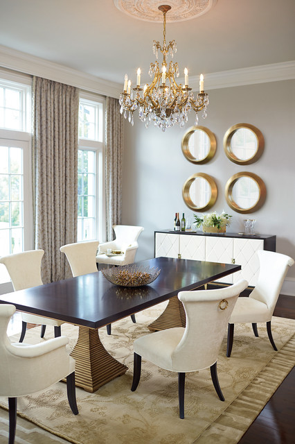 Jet Set Dining Room And Leather Buffet Transitional Dining Room Part 81