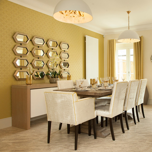 John Amabile Design Contemporary Dining Room