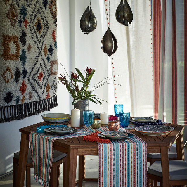 John Lewis New Bohemian Dining Room - Eclectic - Dining Room ...