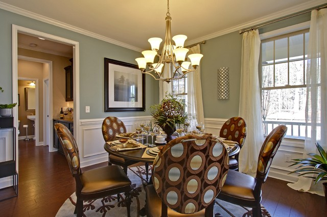 John Wieland Homes - The Donaldson traditional-dining-room