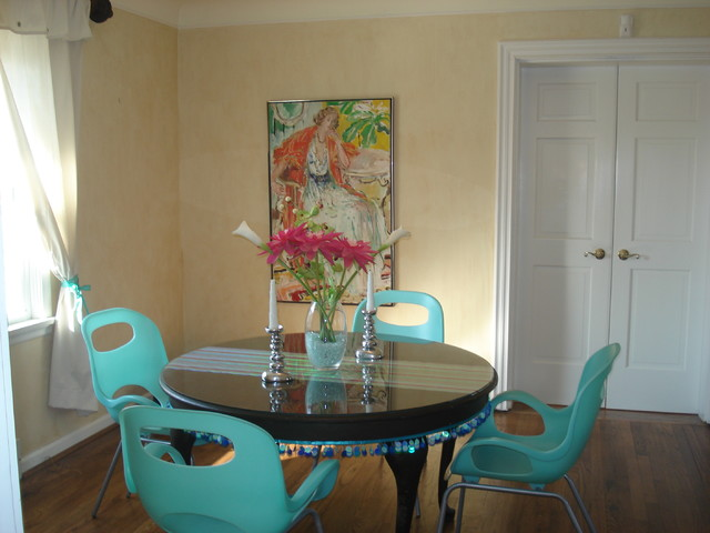 Joni Spear Interior Design eclectic dining room