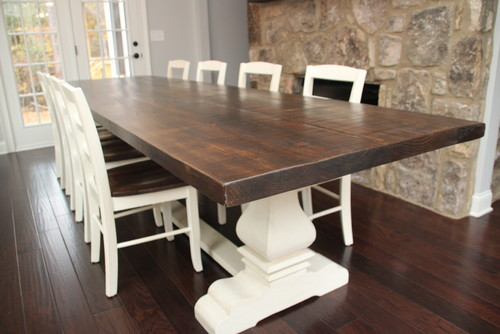 I was wondering if you sold just the table base for a 8ft for 8ft dining room table