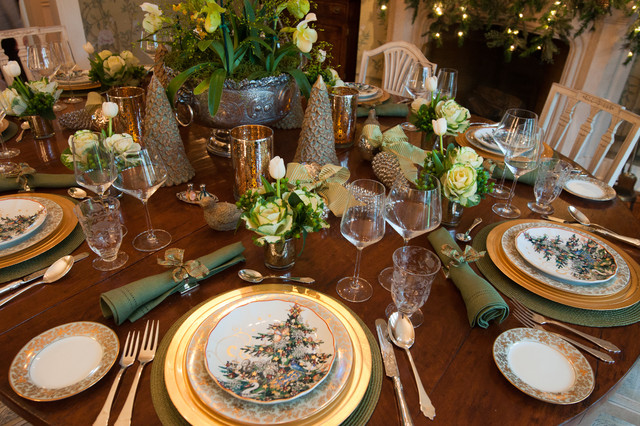 dining table setting 1