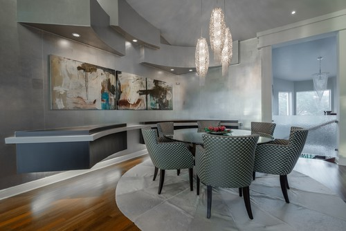 Contemporary Dining Room by Jupiter Photographers Michael Laurenzano Photography
