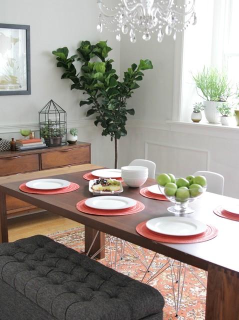 freemans dining room | Kackley Dining Room - Midcentury - Dining Room - kansas ...