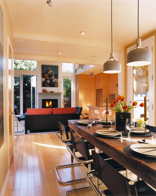 Kalmbach Residence modern-dining-room