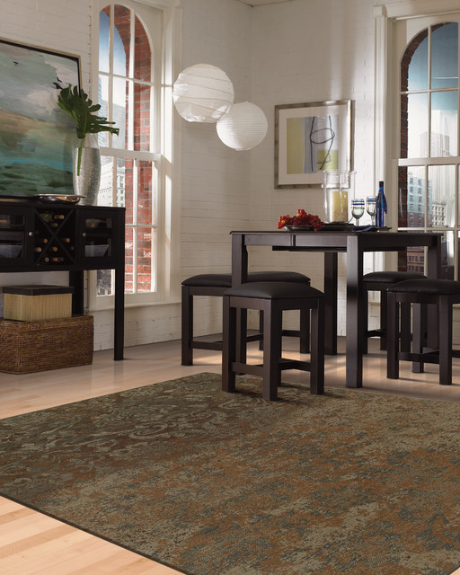 karastan rug collection contemporary dining room other by