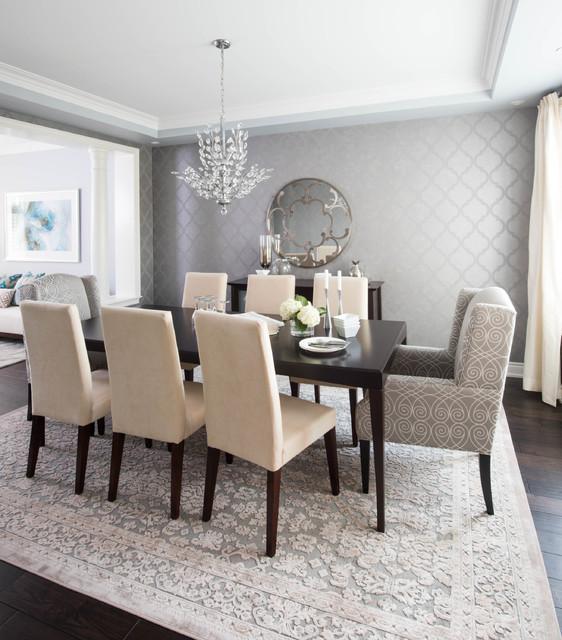 Transitional Dining Room Design Ideas: Kate Davidson