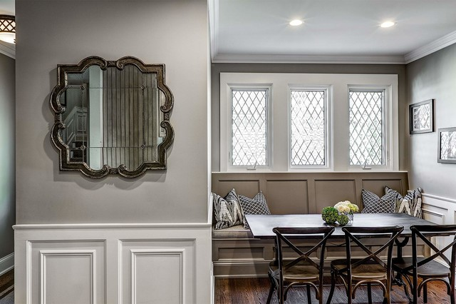 Kate Marker Interiors Transitional Dining Room Chicago By Marcel Page Photography