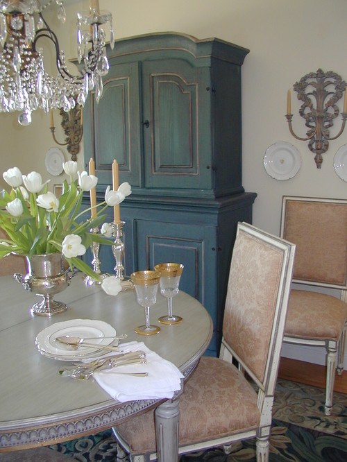 Kathleen Burke Design traditional dining room