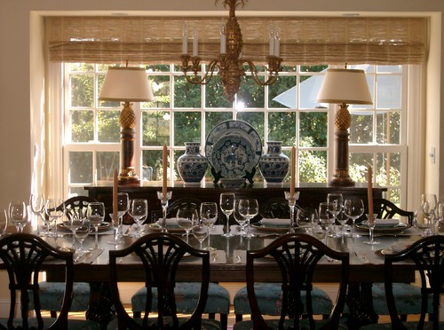 Kathleen Burke Design traditional dining room