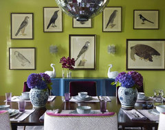 Katie Ridder Rooms contemporary dining room