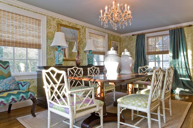Katie Rosenfeld Interiors Transitional Dining Room