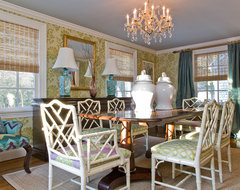 Katie Rosenfeld Interiors transitional-dining-room