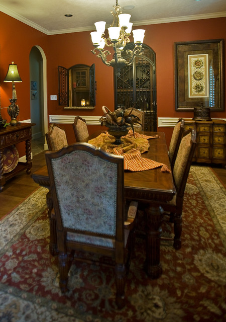 Katy Lifestyles & Homes Cover Story traditional-dining-room