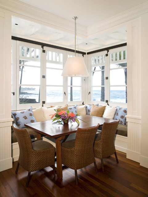 Kauai Residence - Hawaii beach-style-dining-room