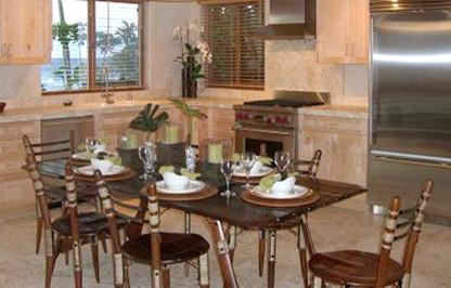 Kauwertz Residence tropical-dining-room