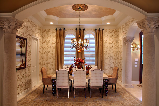 Kds interiors formal dining room traditional dining for Traditional dining room