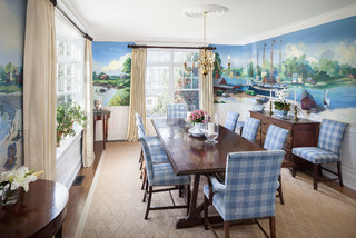 Kennebunkport Beach Style Dining Room Portland Maine