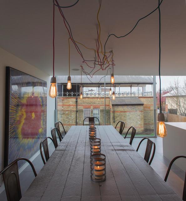 Kennington Water Tower contemporary-kitchen