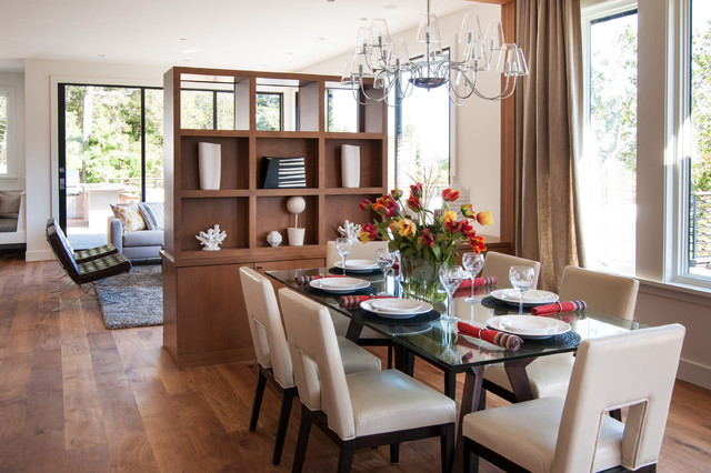 Kentfield Contemporary Contemporary Dining Room