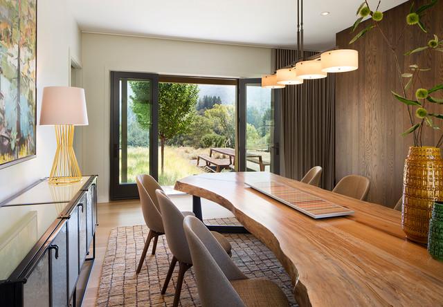 Kentfield contemporary-dining-room