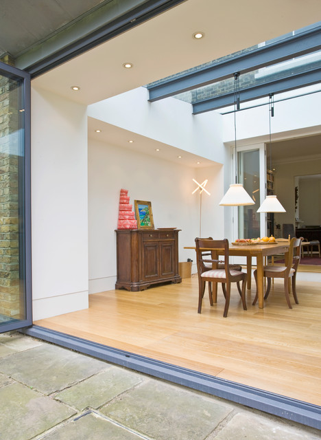 Kentish town house london nw5 contemporary dining for Dining room 56 willoughby street