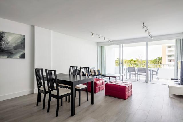 Key Biscayne Apt. 3 - Contemporary - Dining Room - Miami ...