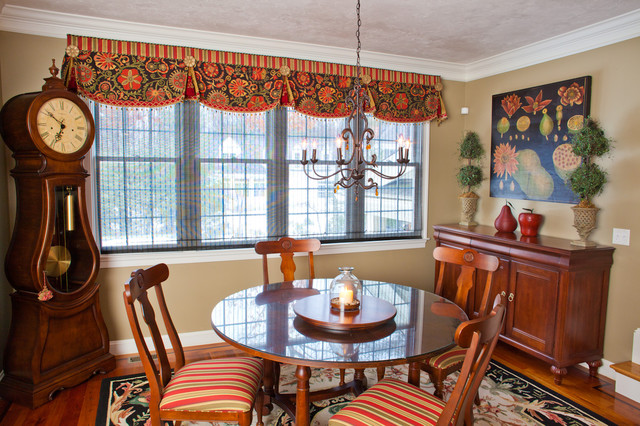 KH Window Fashions Inc Traditional Dining Room